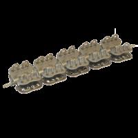 Соединительный замок MLT Mini Record MR1 для конвейерных лент толщиной от 1,5 до 3,2 мм