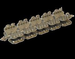 Соединительный замок MLT Mini Record MR2 для конвейерных лент толщиной от 3 до 5 мм