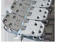 MS 65 шарнирные винтовые механические соединители для стыковки конвейерных лент толщиной от 10 до 18 мм