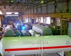 Резервуары для сжиженных углеводородных газов (СУГ )составе АГЗС, АГЗП;