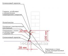 Плинтус гигиенический ПолиТон ПЛ 10 П