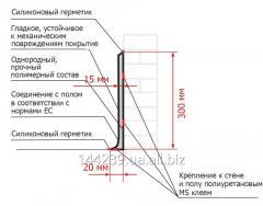 Плинтус гигиенический ПолиТон ПЛ 30 РД