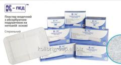 K-Ped 5sm*9sm (50 pieces) - a plaster bandage on a