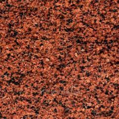 Бордюр гранитный из из гранита красных оттенков
