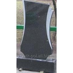 Арка для памятника из габбро 80*40*8 полированная