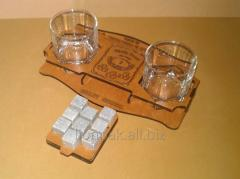 Stones for whisky - packing gift.