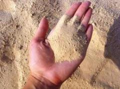 Песок речной, овражный. песок
