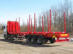 VARZ NPL-2713 semi-trailer timber carrying vessel