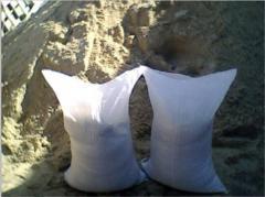 Реализуем песок в мешках