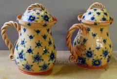 Jug with a cover