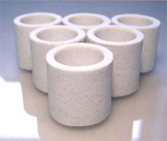 Ceramic crucible analog of C4500 528-018 528-050