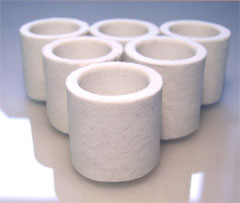 Ceramic crucible of Like C4500 528-018 528-050