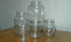 Glass jar for preservation of SKO-82, TO-82