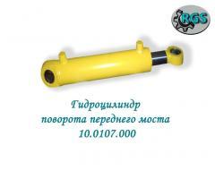 Hydraulic cylinder of turn of the forward bridge