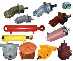 Repair of hydraulic systems of special equipmen