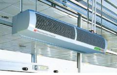 Air thermal veils Thermoscreens (England) and