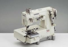 Industrial jeans sewing machines of a chain stitch