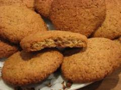 Oatmeal cookies (Kiev), oatmeal cookies with honey