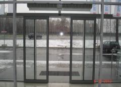 Automatic sliding doors of TINA of 2 Portalp