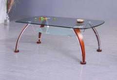 Стол стеклянный, столики из стекла, кухонные