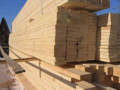 Board a cut dry pine - a dry, 1 grade.