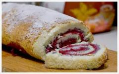 Rolls with a stuffing (Kiev), roll with jam to buy