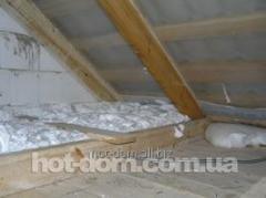 Warming by foam-concrete blocks