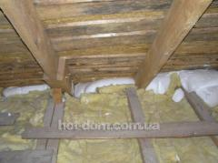 Mineral wool insulating