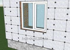Foam heater for walls