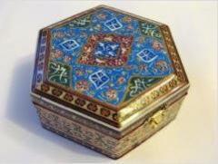 Восточная шкатулка для украшений с персидской