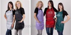 Apron of the hairdresser