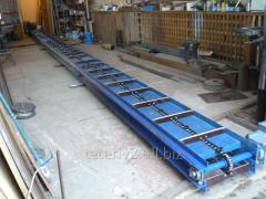 Conveyor scraper L=3,4 ZM-60A