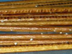 The straws sweet (Kiev), straws with poppy, straws