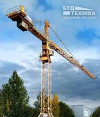 Tower crane of LIEBHERR 48.1K