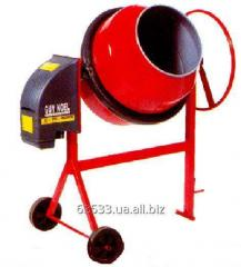Spare parts on a concrete mixer GUY NOEL B-132