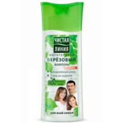Shampoo Birch for all family of 250 ml.