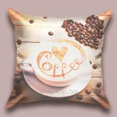 Design throw pillow Fragrant Latte, art.