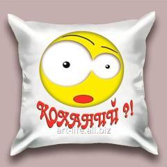 Design throw pillow Kokhany, art. 1Pd-41-50х50_а