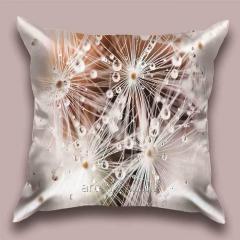 Design throw pillow dew 1 Rays, art.