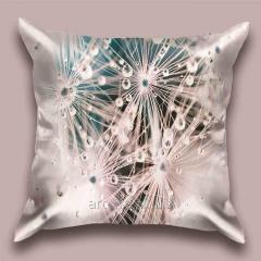 Design throw pillow dew 2 Rays, art.