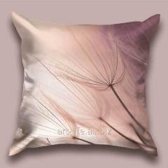 Design throw pillow Lilac breeze, art.