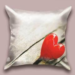Design Heart Petal throw pillow, art.
