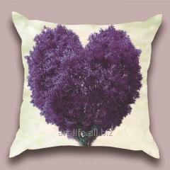 Design throw pillow Lavender paradise, art.