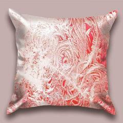 Design throw pillow Crimson pattern, art.
