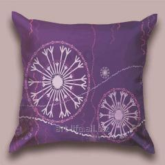 Design Flying throw pillow snezhinka_s, art.