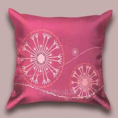 Design Flying throw pillow snezhinka_f, art.