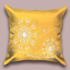 Design Flying throw pillow snezhinka_j, art.