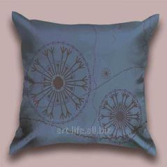 Design Flying throw pillow snezhinka_ts, art.