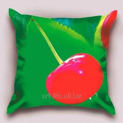 Design Cherry throw pillow, art. 1Pd-145-50х50_g