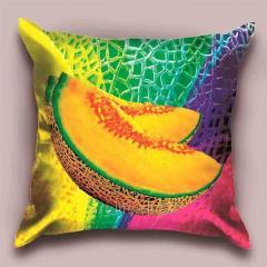 Design Iridescent throw pillow, art.